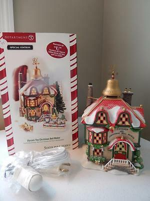 Department 56 - North Pole ULYSSES THE CHRISTMAS BELL MAKER #56.56955