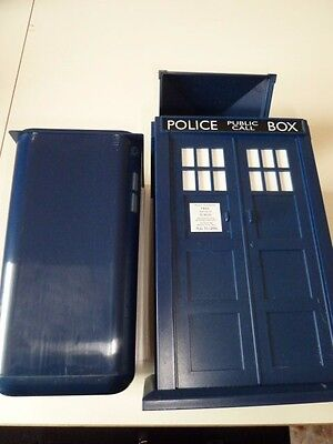 Bbc 2004 Doctor Who Police Box Tardis 26.5Cm Tall Container/bin Removeable Inner