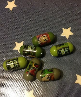 Ben 10 Mighty Beanz 6 In Collection