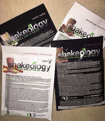 Shakeology Single Serving Packets! - 5 Flavours available! !!FREE SHIPPING!!