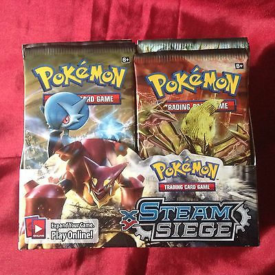Pokemon Trading Cards  XY -Steam Siege Brand New Sealed Pack