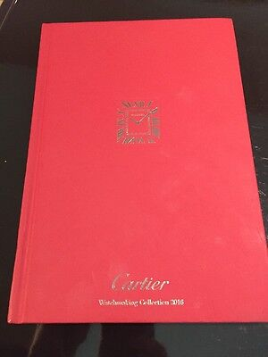 CARTIER  Watch Brochure Hardback WATCHMAKING COLLECTION 2016 Red Book