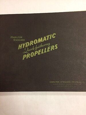 Hamilton Standard Hydromatic Quick Feathering Propellers Large Promotional Book