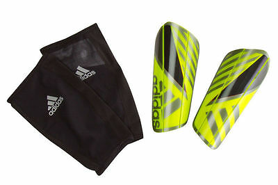 adidas Mens Ghost Pro Football Shin Guards Training Sports Protection Large