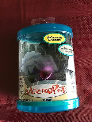 2002 Tomy Micropets Sumo Dragon Electronic Interactive Toy MIP