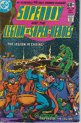 Superboy and the Legion of Super-Heroes 238 - 1978 - 46-pages - Starlin cover