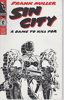 Sin City A Dame to Kill For 5 - 1994 - Miller - Near Mint