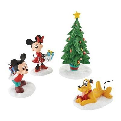 New Enesco Dept56 Disney Merry Mickey Gift Set