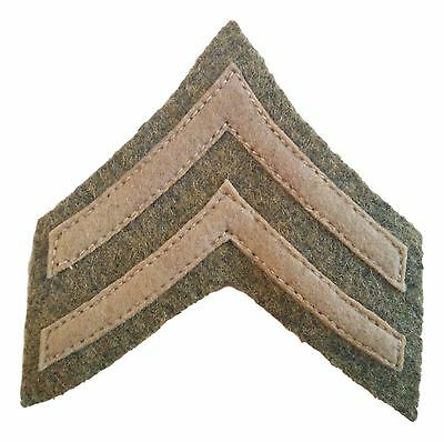 WW1 U.S Army Corporal Chevron Patch. Reproduction. Super high quality!