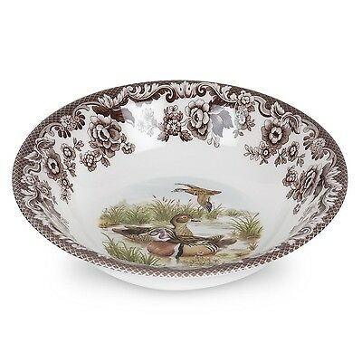 New Spode Spode Woodland Ascot Cereal Bowl (Wood Duck)