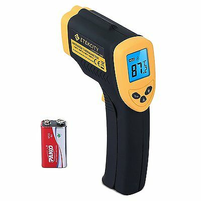 Etekcity Lasergrip 1080 Non-contact Digital Laser IR Infrared Thermometer New