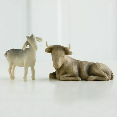 New Willow Tree Willow Tree Ox And Goat Figurine