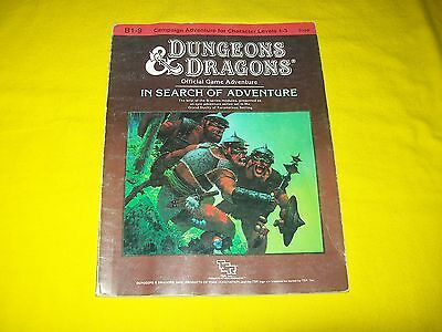 B1-9 In Search Of Adventure Dungeons & Dragons Tsr 9190 6 Supermodule