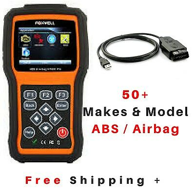 Foxwell NT630 Pro OBD2 EOBD ABS Airbag SRS SAS Diagnostic Scan Tool Code Reader