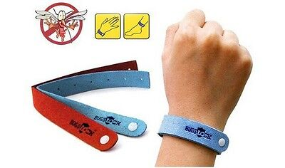 WRIST BAND BRACELET INSECT BUG REPELLENT BUG LOCK CAMPING MOZZ 5pcs