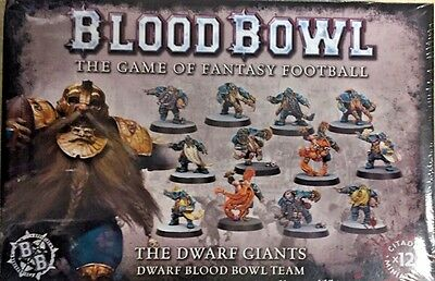 BLOOD BOWL 2017 edition DWARF TEAM (12 players) by Games Workshop new