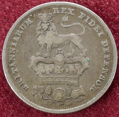 GB Shilling 1826 King George IV (C3108)