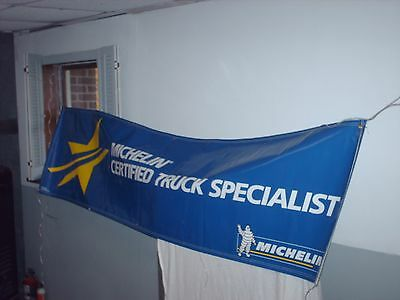 Michelin Truck Tire  Certified Specialist Advertising  Sign   Nos