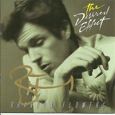 Brandon Flowers signed The Desired Effect cd