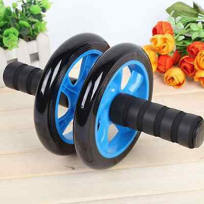 ABS Double-wheeled Updated Abdominal Wheel Ab Roller gym Fitness Equipment