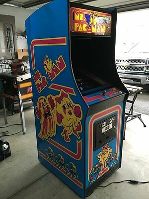 Ms Pac-Man Complete Restoration Kit