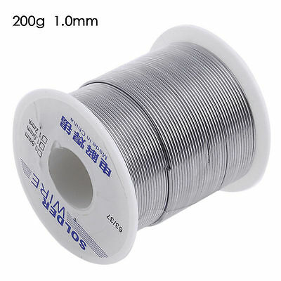 63/37 1.0mm 200g  Rosin Roll Core cable Wire Tin Flux Solder Welding Iron Reel