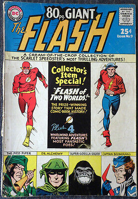 80 Page Giant #9 - The Flash -The Scarlet Speedster's Most Thrilling Adventures!