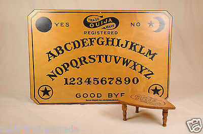 Vtg William Fuld Ouija Board Mystifying Oracle 1914 Antique Wood Planchette
