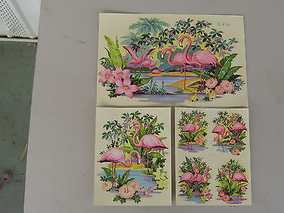 Vintage Flamingo Decals Liberty Decal Set Of Three!!lowest Price On Ebay