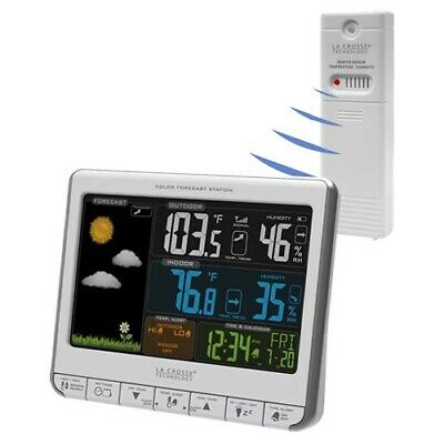 La Crosse 308-1412S USB Wireless Weather Station with GEN LA CROSSE WARR