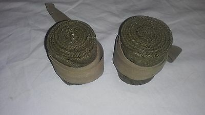 WW2 WWII Canadian British Short Puttees