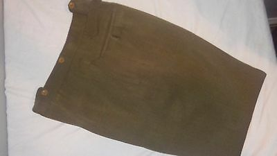 Post WW2 WWII Canadian British Officers Trousers