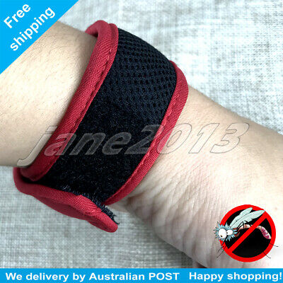 NEW  Mozzie Band-Anti Mosquito Wristband  Natural  Repellent  Waterproof