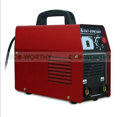 ECO Inverter Welding Equipment IGBT MMA Arc 220V Welder Machine ZX7-200 Portable