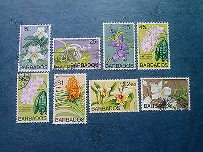 Barbados Sc#396-410 Flowers +31 Stamps  Used