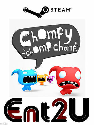Chompy Chomp Chomp Steam Key - for PC (Same Day Dispatch)