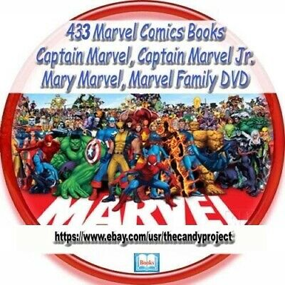 Marvel Family Comics 433 Captain Jr.Fawcett DC Comics Golden Age 2 DVDs