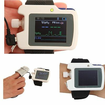 Contec Wrist RS01:Respiration Sleep Monitor+SPO2+Pulse Rate,PC Software,CE New