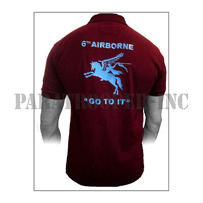 Polo / Polo-Shirt - 6th AIRBORNE (UK)