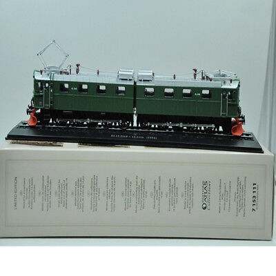 ATLAS Tramways TRAIN 1:87 Locomotive E1 12.2115+12.2116 (1954)  GREEN MODEL