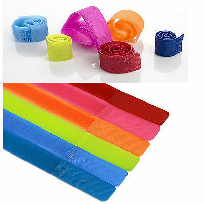 Traps Organizer Tie For Wrap 6PCs Velcro Color Rope Holder  Mix Wire Cord Cable
