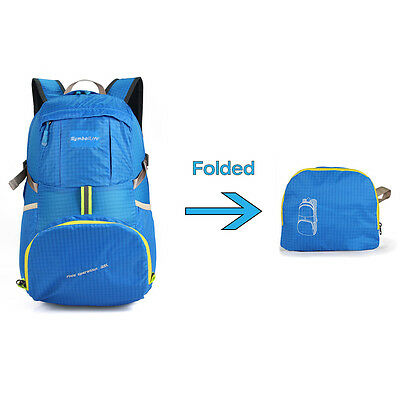 Outdoor Ultra-light Water-repellent 35L Packable Handy Travel Backpack