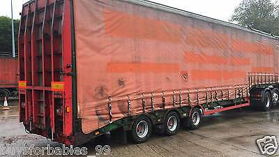 1998 King Tri Axle Commercial Trailer Gt544/3 Saf Axles, New Tyres & Air Bags