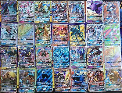 GX BUNDLE! 50 New Pokemon Cards with 1 GX + 8 RARES & HOLOS! MINT Bulk Lot GO