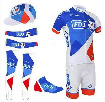 NEW Cycling set 2016 FDJ all sizes