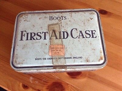 Farms First Aid Kit, Boots - Vintage