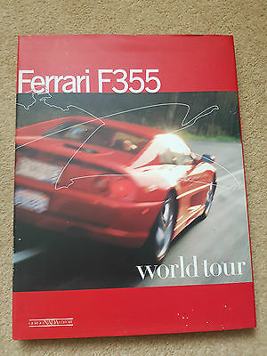 Ferrari F355 World Tour Book 1997