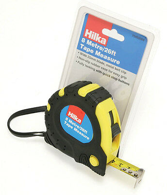 Builder Measure Tape 8m/26 New BIG Professional Builders Tape Measure HILKA