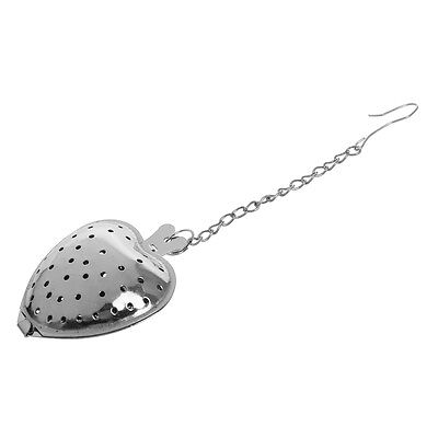 Heart shaped spoon Infuser tea strainer. E2C4