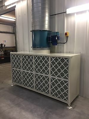 Fume / Dust Extraction Dryfilter Booth